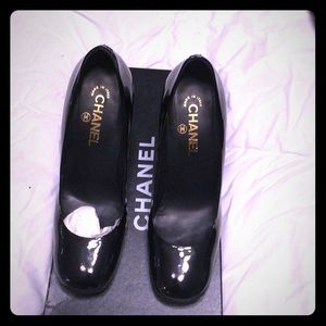 Chanel shoes.